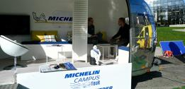 Michelin Roadshow met students at EDHEC Lille Campus